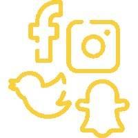symboles des réseaux sociaux